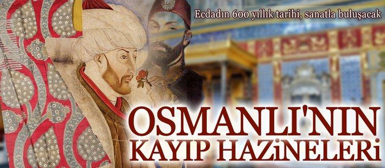 Osmanlı'nın kayıp hazinelerini resmetti