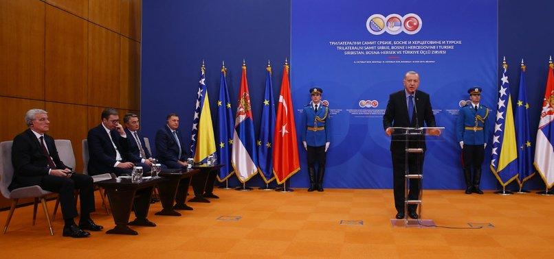 TURKEYS ERDOĞAN DESCRIBES SARAJEVO-BELGRADE HIGHWAY AS 'VERY IMPORTANT' FOR DEVELOPMENT