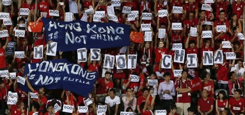 FIFA FINES HONG KONG SOCCER BODY FOR CHINA ANTHEM PROTEST
