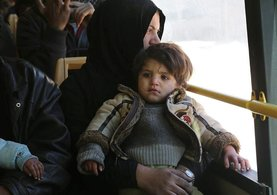Halep'te 7 binin üzerinde sivil tahliye edildi