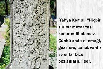 Osmanlı mezar taşlarındaki sembollerin sırları