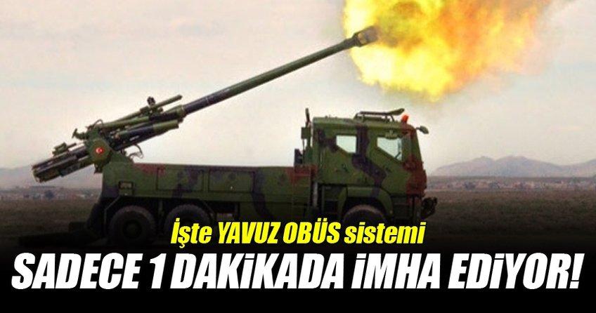 MKE'nin ürettiği obüs sistemi Yavuz dakikada 4-6 atış yapabilecek