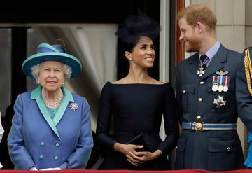 Kraliçe Elizabeth'ten Prens Harry ve Meghan Markle kararı!