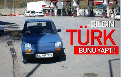 Çılgın Türk bunu yaptı
