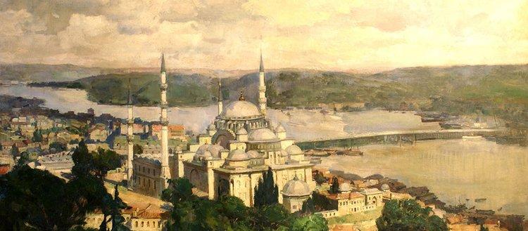 Akıngüç Sanat Koleksiyonu'ndan 'İstanbul Resimleri' sergisi