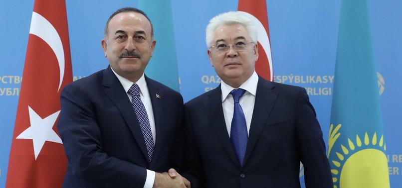 TURKEY, KAZAKHSTAN SEEK TO BOOST TRADE TIES