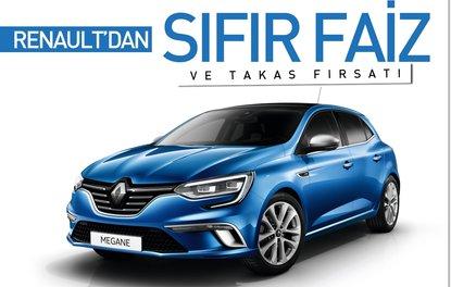 Renault'dan sıfır faiz ve takas fırsatı