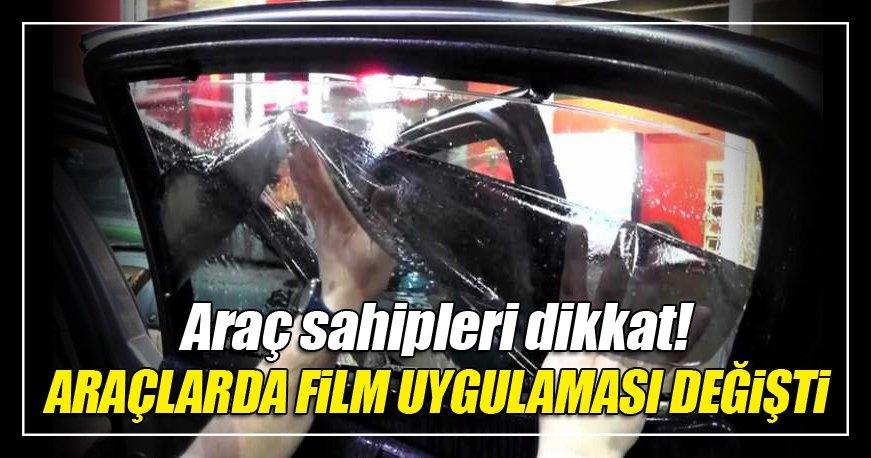 Araçlarda cam filminde yeni dönem