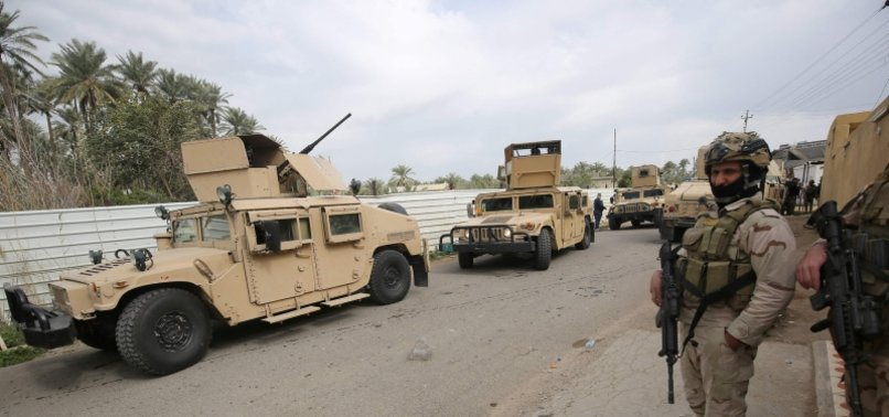 ROCKETS HIT IRAQ MILITARY BASE HOSTING NATO TROOPS