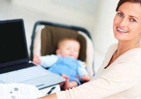 Çalışan anneye 1500 lira ödenecek!