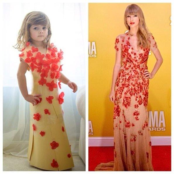 İnternette Fenomen Haline Gelmiş, Giysi Tasarımları Yapan 5 Yaşındaki Kız