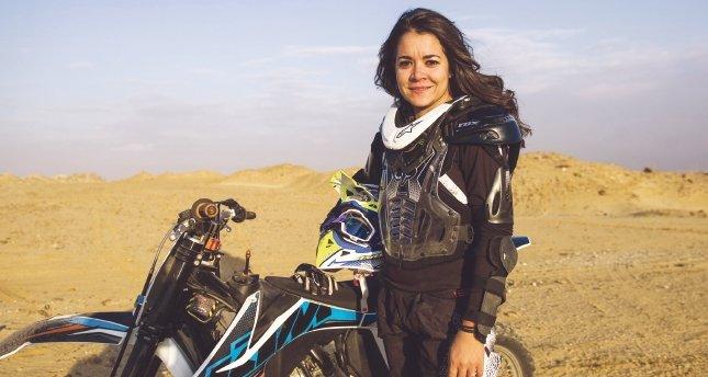 Mısırlı rallici kadın