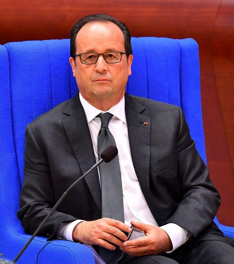 French President Franu00e7ois Hollande