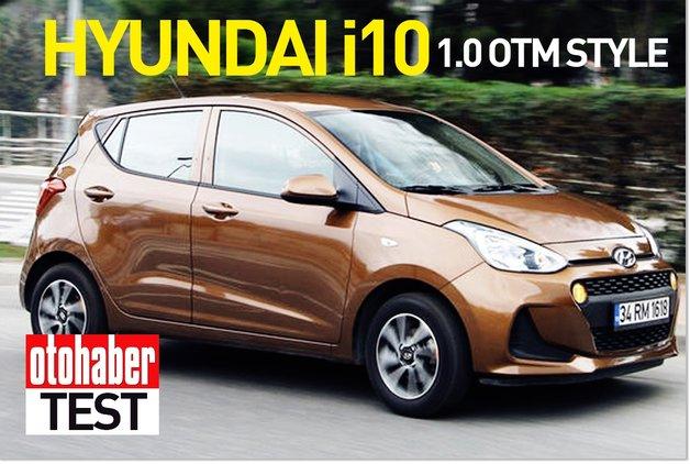 TEST · Hyundai i10 1.0 OTM Style