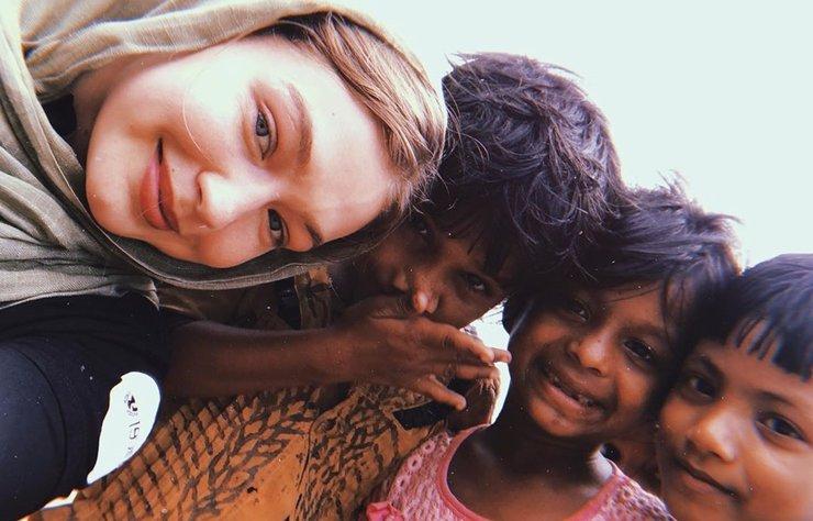 Ünlü model Gigi Hadid, geçen yıl ziyaret ettiği Bangladeş'te bulunan UNICEF'in kurduğu Jamtoli Mülteci Kampı için yeniden çağrıda bulundu.