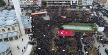 Thousands bid farewell to Turkish soldier fallen in Syria