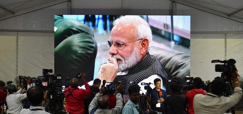 MODI ADDRESSES INDIA AFTER MOON LANDING FAILS