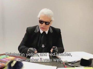 Karl Lagerfeld'in son Fendi defilesi gerçekleşti