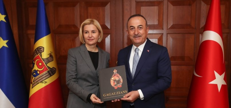 TURKISH FOREIGN MINISTER MEETS GAGAUZ GOVERNOR