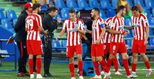 2 Atletico Madrid personnel test positive for COVID-19