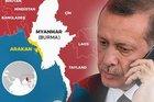 Erdoğan'dan kritik Arakan görüşmesi
