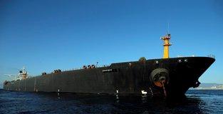 Seized Iranian oil tanker leaves Gibraltar