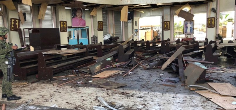 PHILIPPINES: DEATH TOLL FROM CHURCH BOMBING RISES TO 27