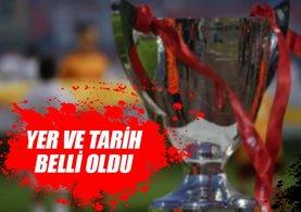 Ziraat Türkiye Kupası finali Eskişehir'de