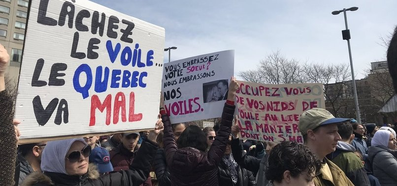 PROPOSAL TO BAN HIJAB, RELIGIOUS CLOTHING, IGNITES DEBATE IN CANADAS QUEBEC