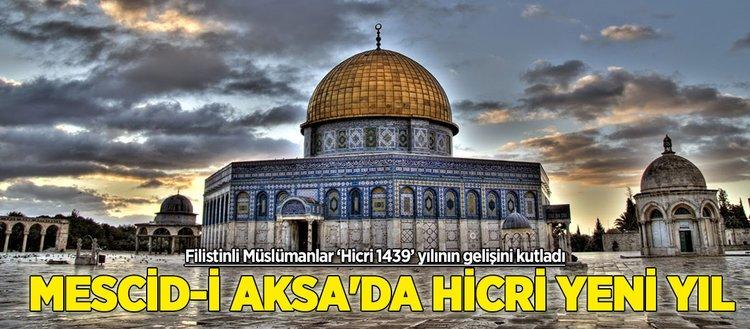 Mescid-i Aksa'da hicri yeni yıl etkinliği