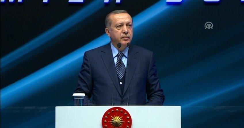 Cumhurbaşkanı Erdoğan: 'Bunların jübile zamanı gelmiş hâlâ direniyorlar'