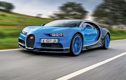 SÜRÜŞ İZLENİMİ · Bugatti Chiron