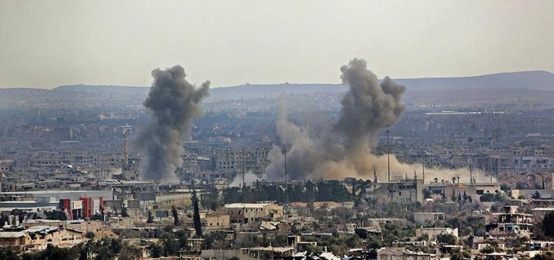 US CALLS ON RUSSIA TO PRESSURE ASSAD IN GHOUTA