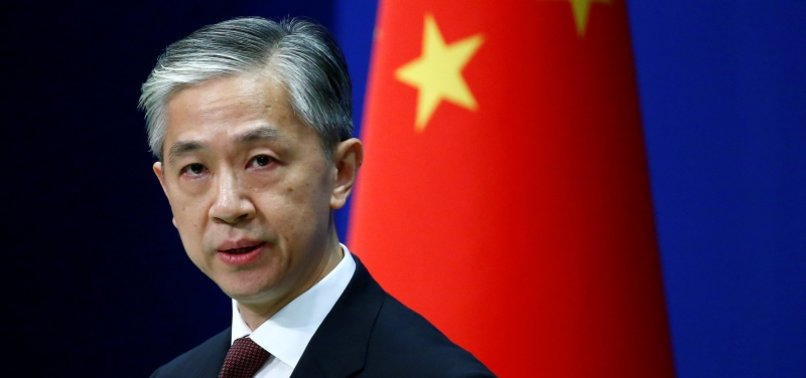 CHINA SAYS IT OPPOSES ANY U.S. ACTIONS AGAINST CHINESE SOFTWARE FIRMS