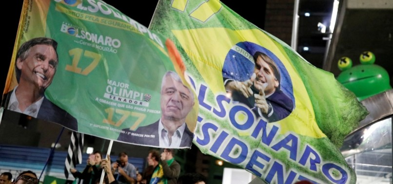 TROPICAL TRUMP BOLSONARO WINS BRAZIL PRESIDENTIAL RUN-OFF IN MAJOR SWING TO THE RIGHT