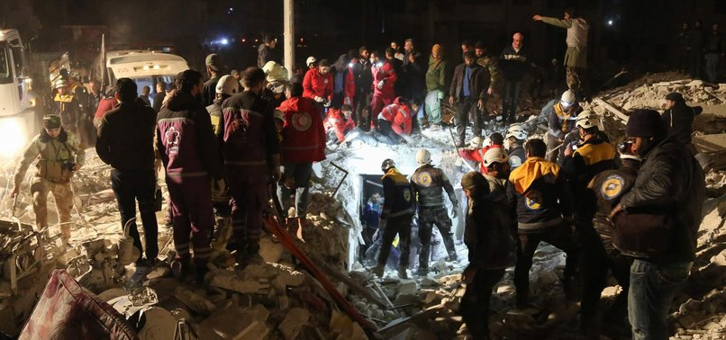 34 KILLED IN CAR BOMB BLASTS, 24 KILLED IN AIRSTRIKES IN SYRIAS IDLIB