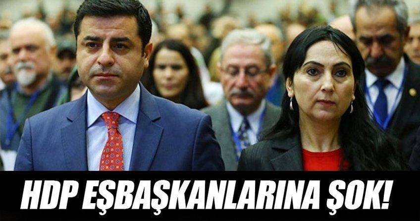 Demirtaş ve Yüksekdağ'a iddianame şoku