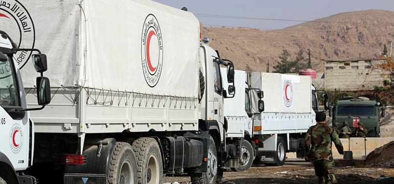 SYRIAS BESIEGED EASTERN GHOUTA TO DELIVER AID CONVOY