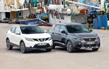 TEST · Nissan Qashqai 1.6 dCi, Peugeot 3008 1.6 BlueHDi