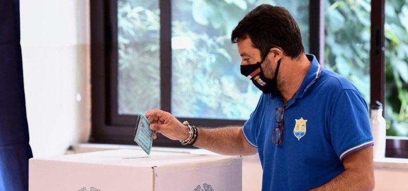 ITALY'S CENTER-LEFT HOLDING ON IN KEY REGIONS