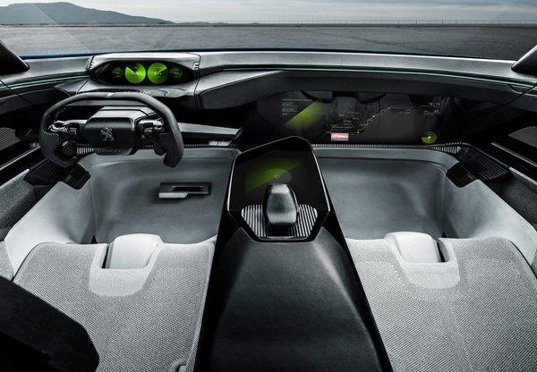 Özgür Ruh Peugeot Instinct Concept