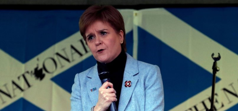 SCOTLAND AIMS FOR INDEPENDENCE VOTE SOON: STURGEON