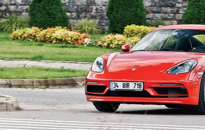 TEST - PORSCHE 718 CAYMAN