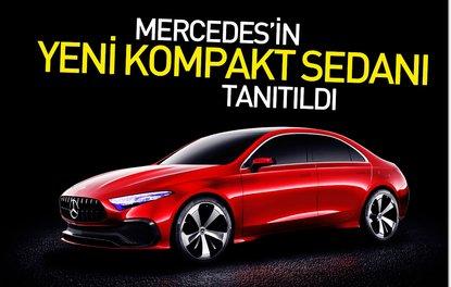 Mercedes'in yeni kompakt sedanı tanıtıldı