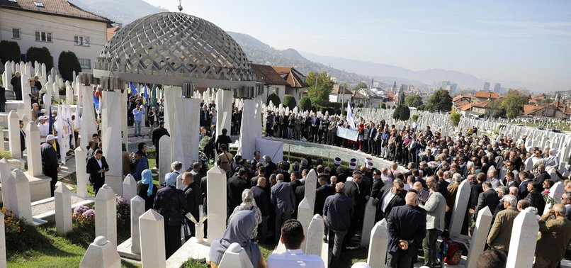 BOSNIA REMEMBERS PIVOTAL LEADER ALIJA IZETBEGOVIC