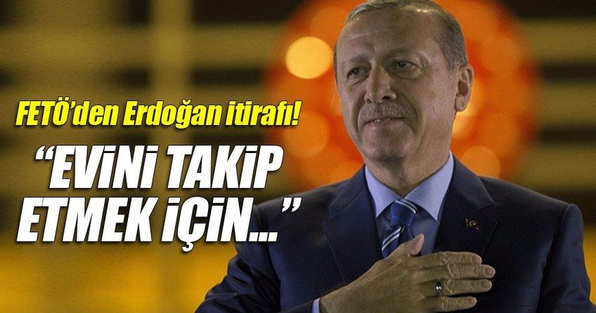 FETÖ'cüler Cumhurbaşkanı Erdoğan'ı takip için teleskop almışlar
