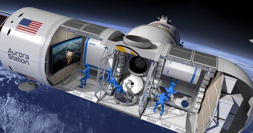 İlk lüks uzay oteli 2021'de hazır