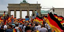 Far-right AfD march in Berlin