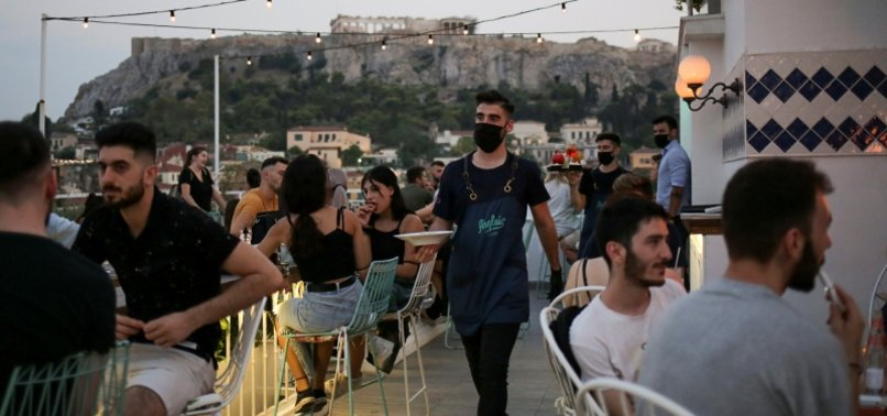 GREECE WARNS CITIZENS AS VIRUS CASES RISE