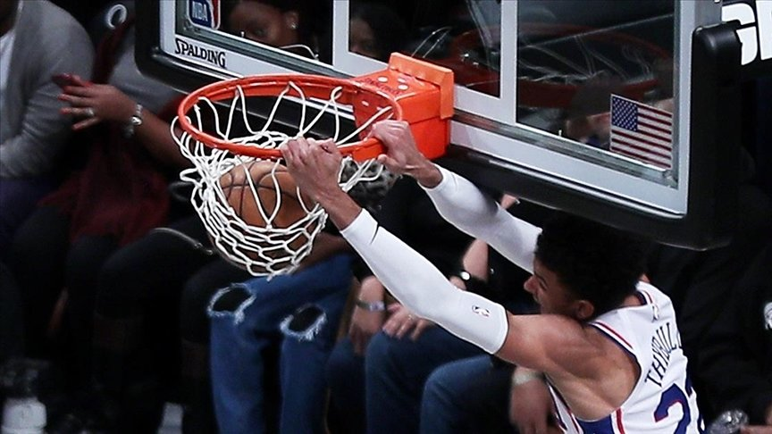 NBA'DE LİDERLERİN MÜCADELESİNDE KAZANAN PHİLADELPHİA 76ERS